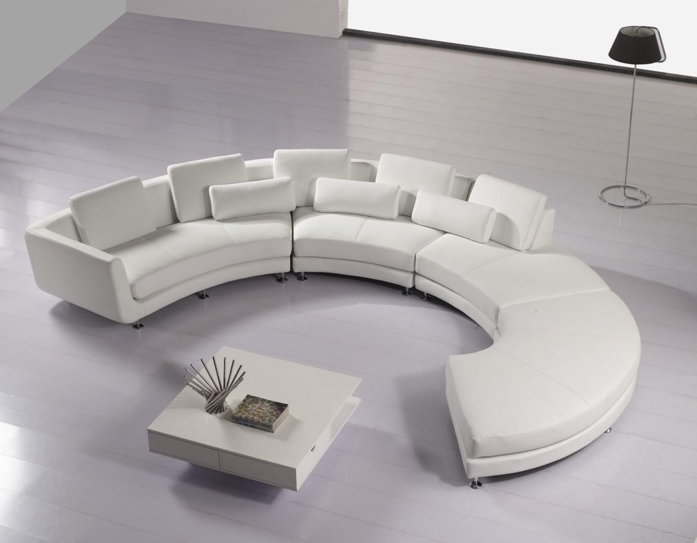 Canap D Angle Arrondi Cuir Affordable Canap Sofa Divan Canap